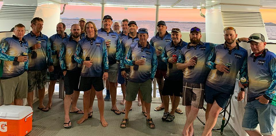 Custom Fishing Shirt, Swains Reef